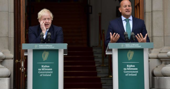 Irish PM Tells Boris to 'Tone Down Nationalistic Rhetoric'…