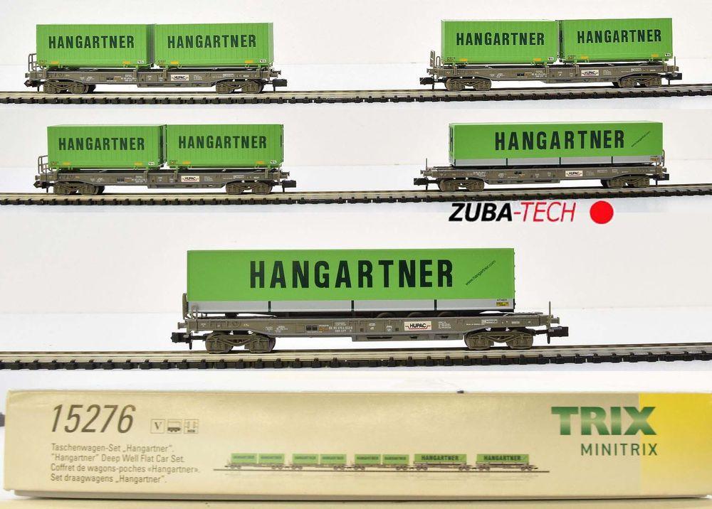 Minitrix 15276 Taschenwagen-Set 5tlg SBB kaufen auf Ricardo