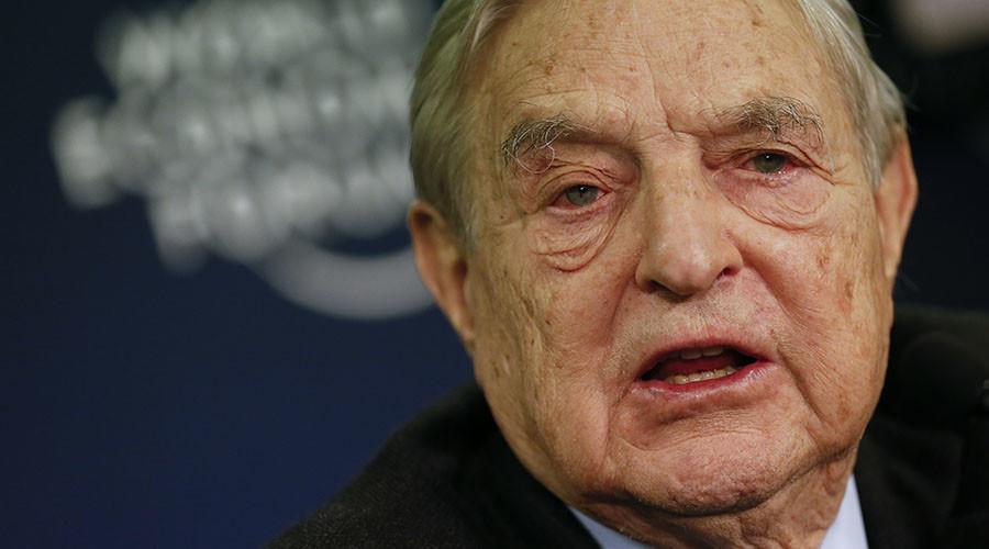 George Soros, Chairman of Soros Fund Management. © Pascal Lauener ...