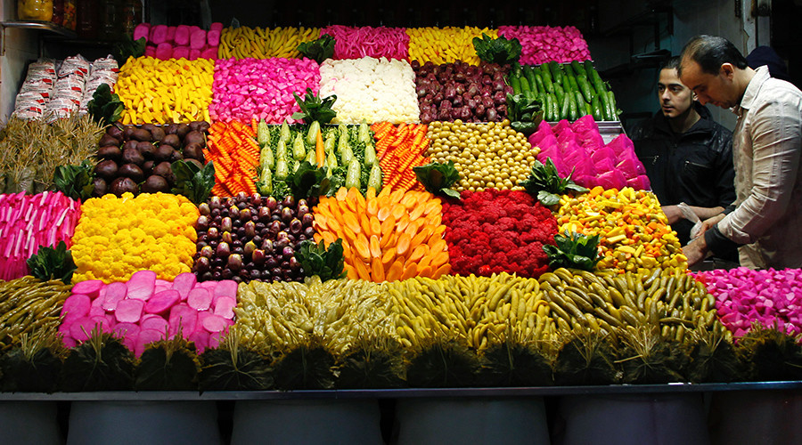 Syria  replaced Turkey on Russia's fruit & vegetables market