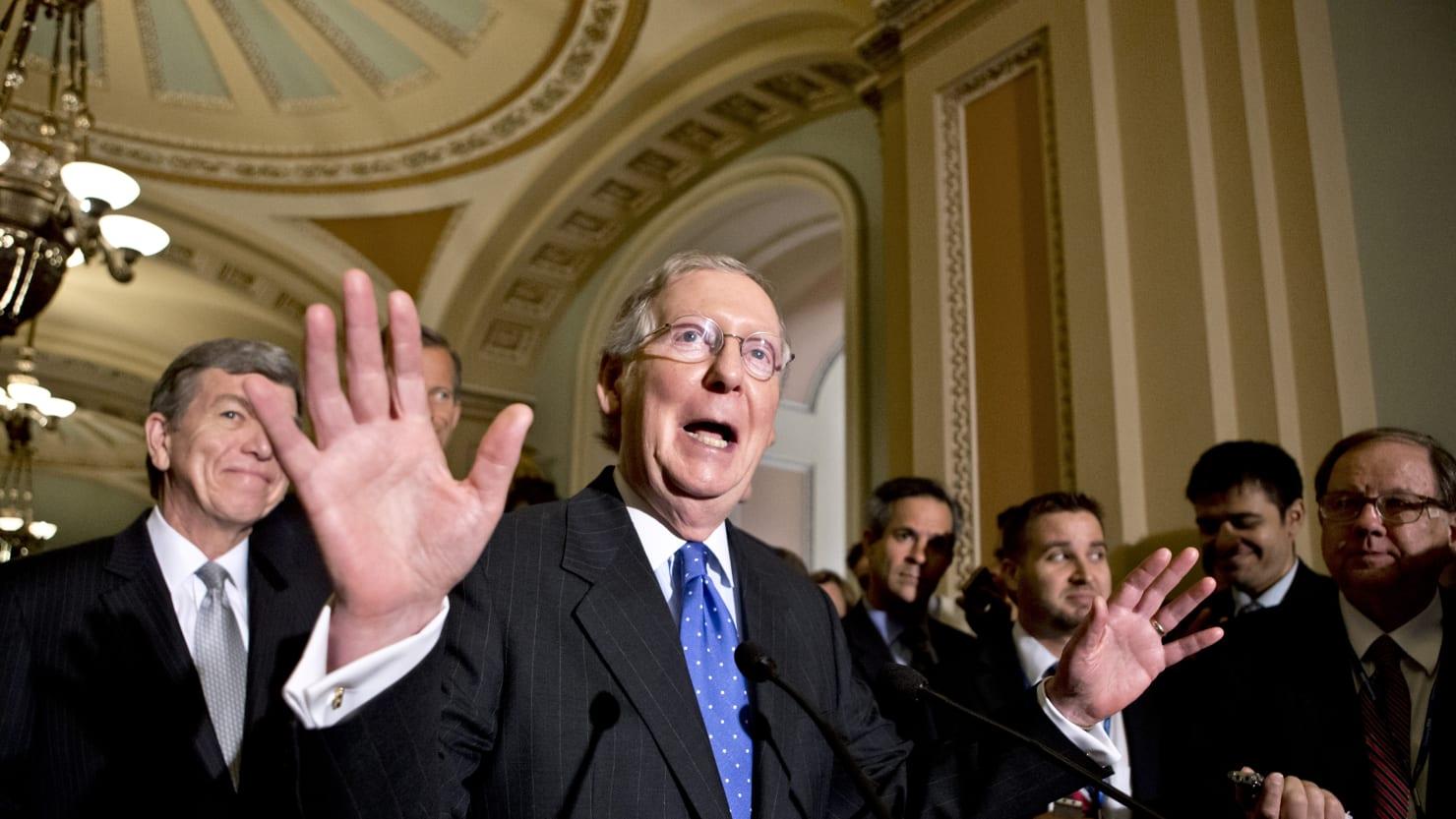 Trump impeachment: Senate GOP reportedly unites behind a no-witness trial…