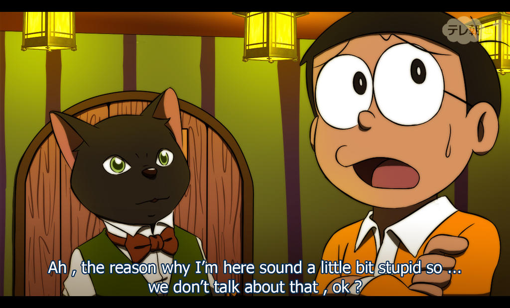 Nobita and Hiron : Welcome to the Cat Kingdom by ...