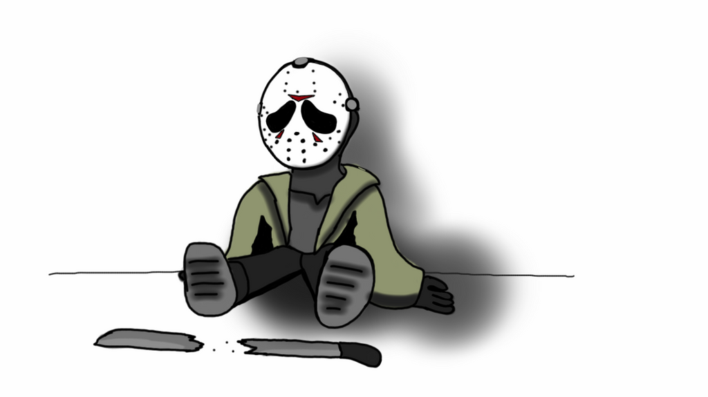 sad Jason Voorhees by captaincrunch1950 on DeviantArt