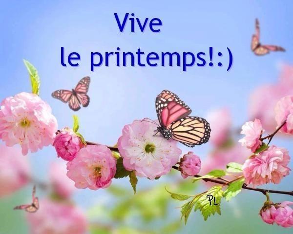 Vive le printemps! :) - Printemps image #4458 - BonnesImages