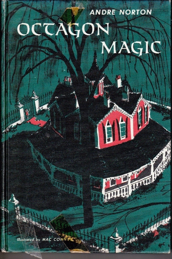 Octagon Magic vintage kids book by Andre Norton magical