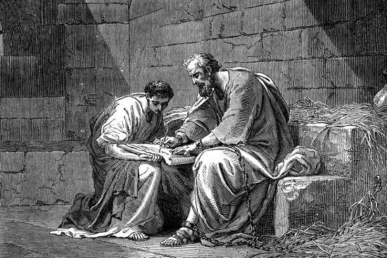 'St Paul the Apostle in Prison, Writing His Epistle to the ...