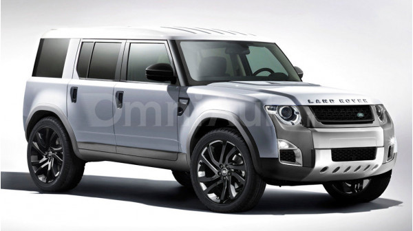 Land Rover's new Defender rendered | CarTrade
