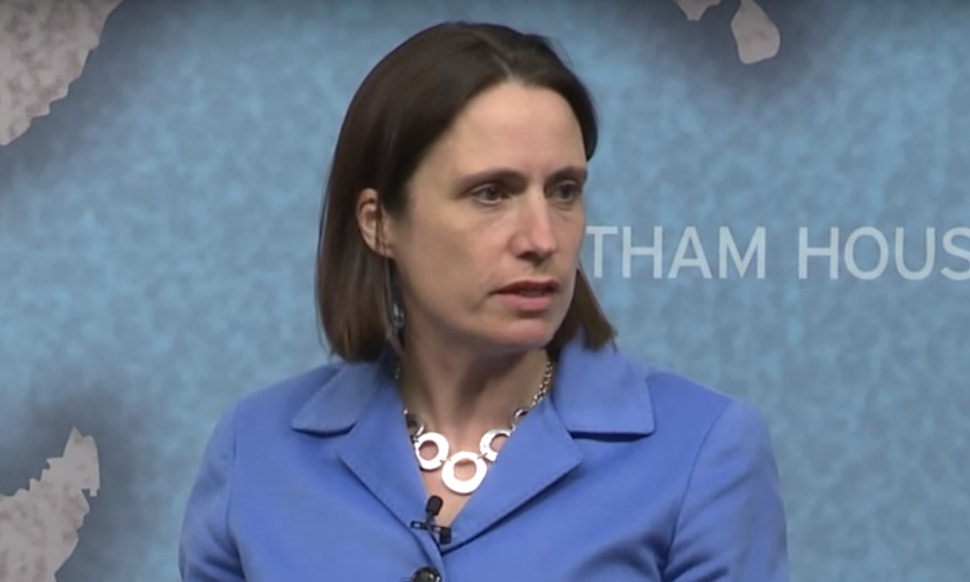 Trump Adviser Fiona Hill Is One Of The Only Women With Him ...