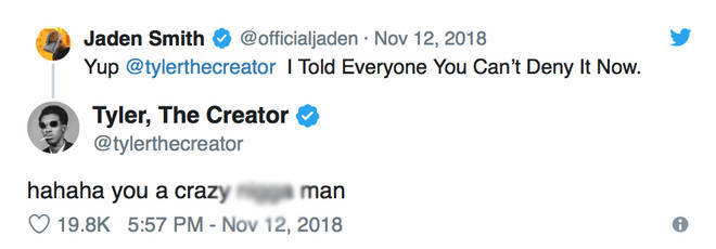 Jaden Smith Confirms Rumours That He Is Dating Tyler The ...