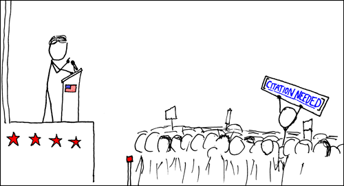 xkcd: Wikipedian Protester