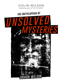 The Encyclopedia of Unsolved Mysteries by Colin Wilson and ...