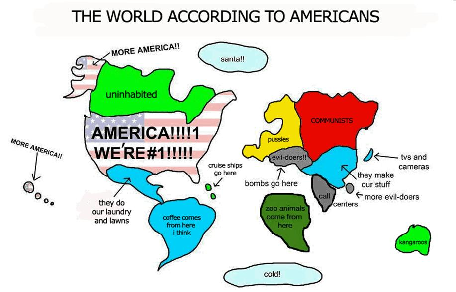Why Foreigners Sometimes Think that Americans View the ...