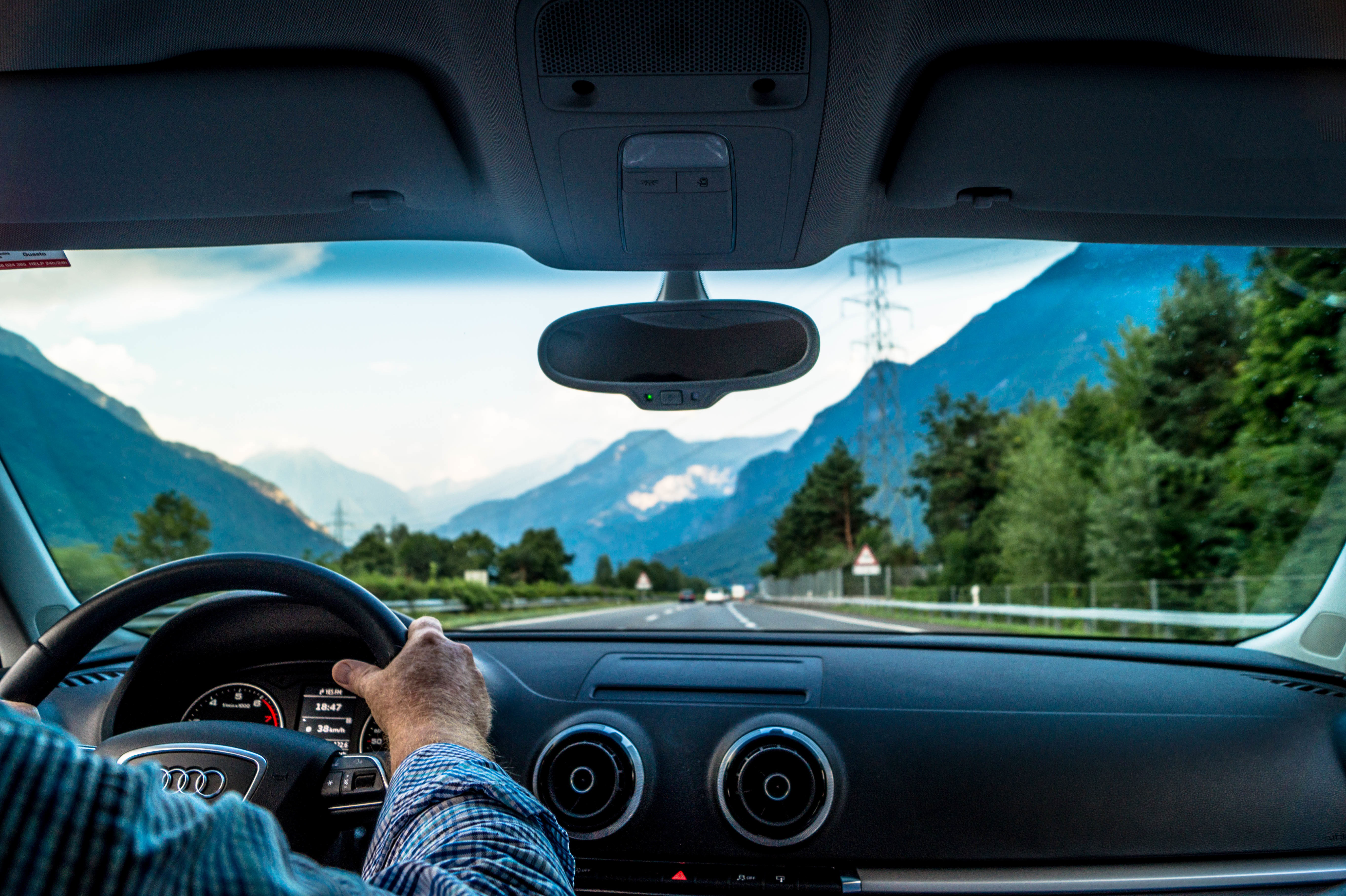 Man Driving Car Free Stock Photo - ISO Republic