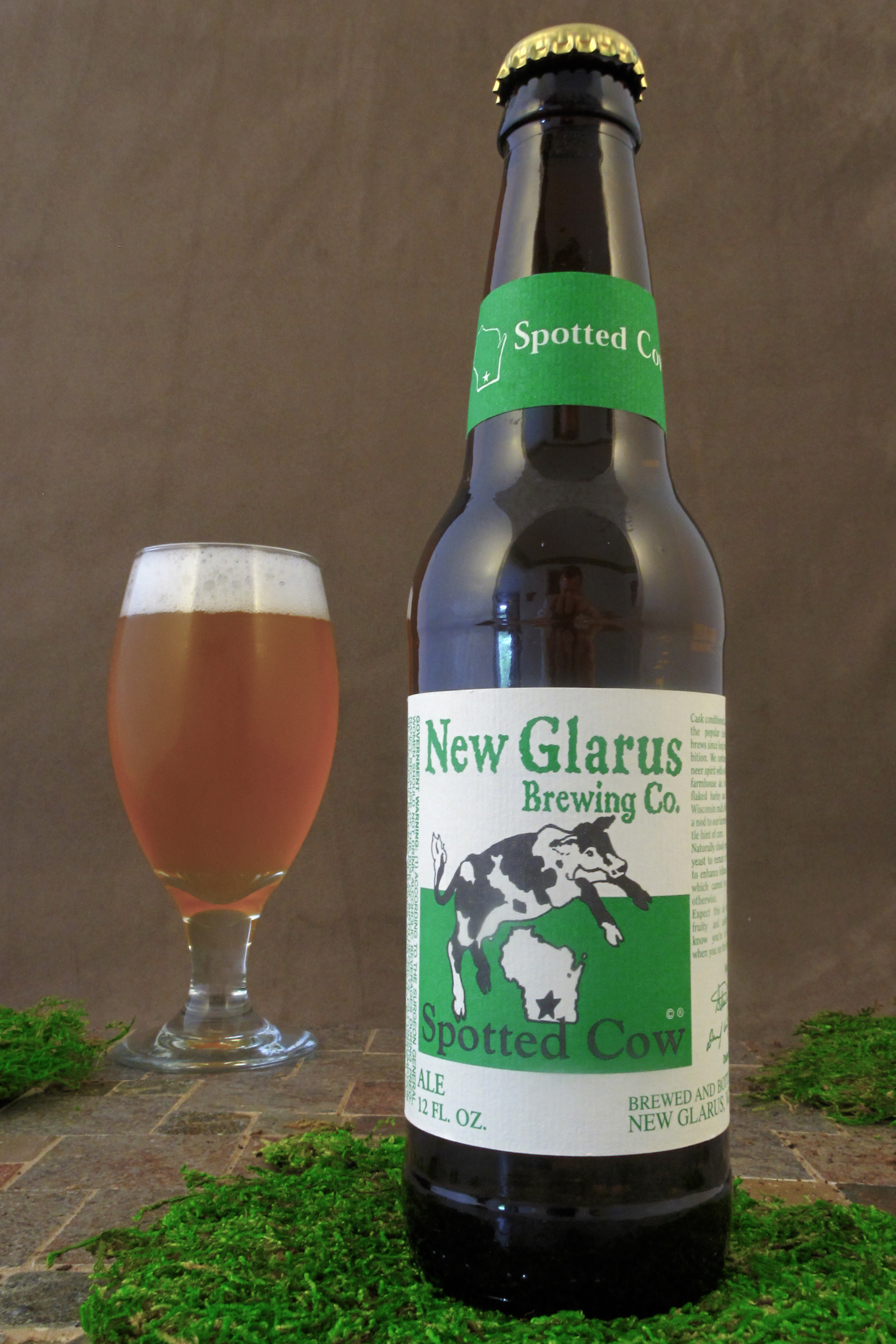 Beertography and Review: New Glarus Spotted Cow | The Beer ...