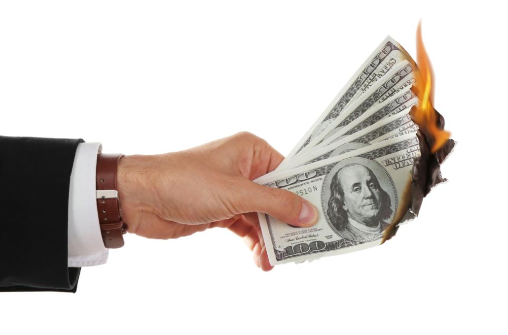 Burning money - THE JOSIAH BARTLETT CENTER FOR PUBLIC POLICY