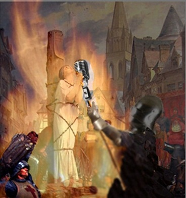 Burned At The Stake - Joan Of Arc