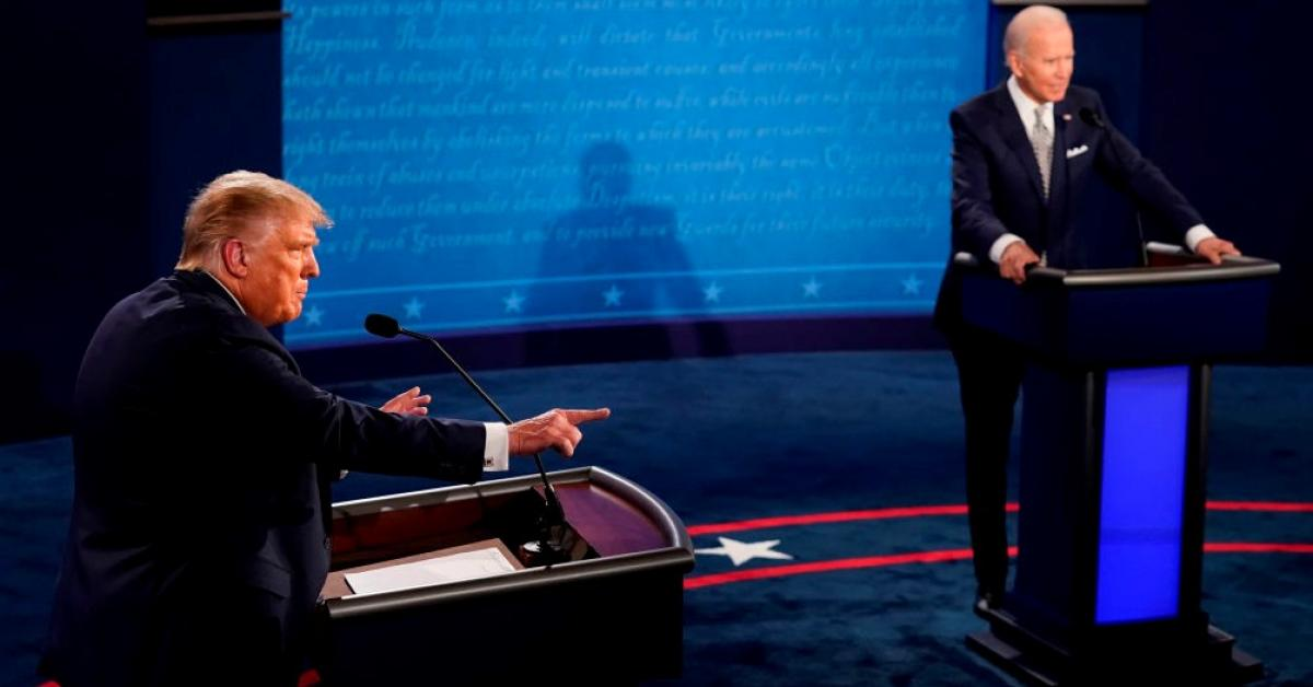 Trump camp blasts move by 'biased' debate commission to ...