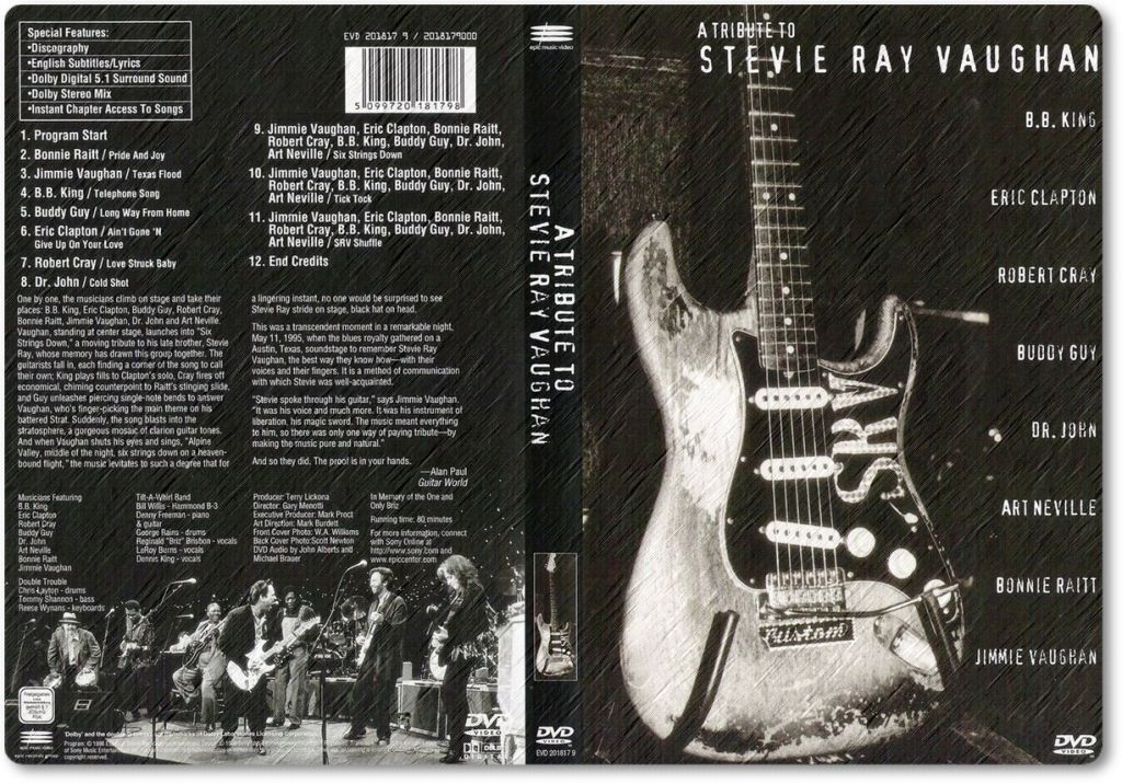 A Tribute to Stevie Ray Vaughan Completo - Videos On-line ...