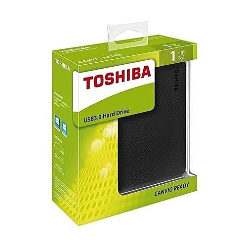 Toshiba Canvio hard drive