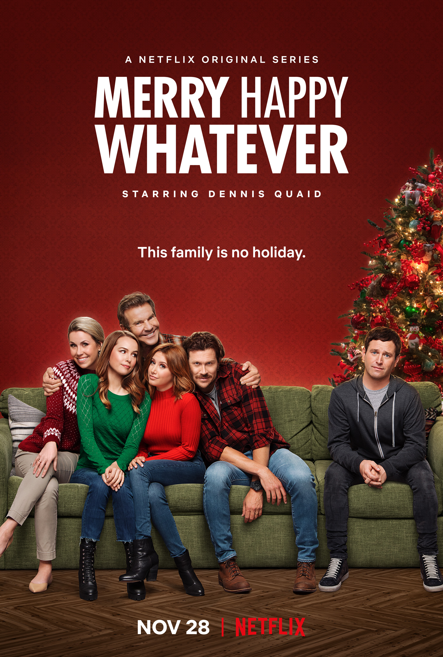 Netflix's Merry Happy Whatever Season 1 Official Trailer