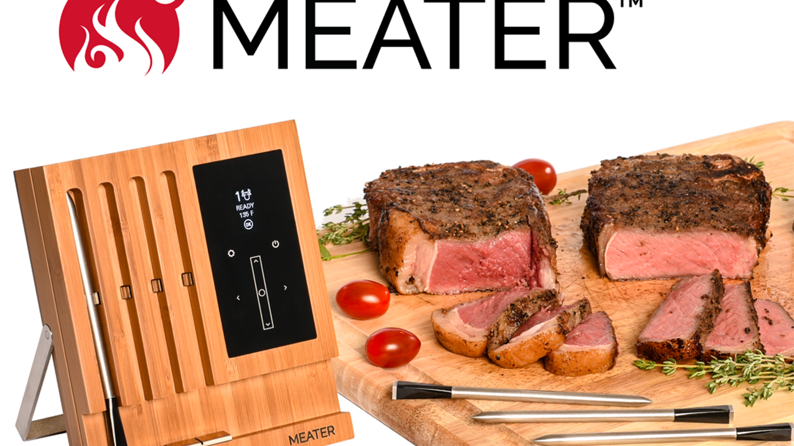 MEATER: The First Truly Wireless Smart Meat Thermometer by ...