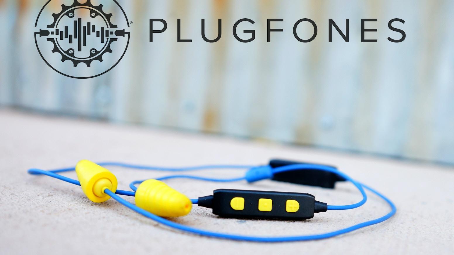 Where Earplugs Meet Earbuds! PLUGFONES® LIBERATE 2.0 by ...