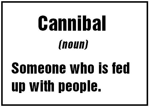Fun with words: cannibal - languagePRO