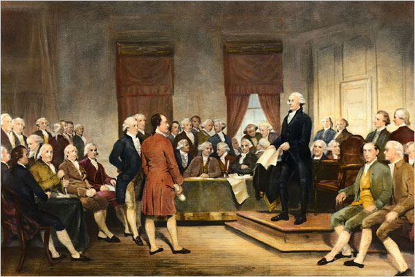 1775 - The Second Continental Congress/ Olive Branch ...