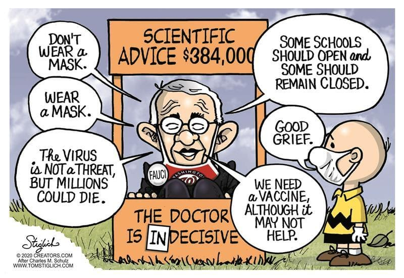 Fauci Spreads Fear and Panic, Threatens 'Kinds of ...