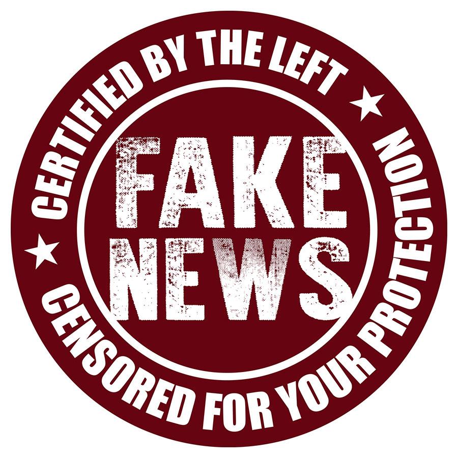 Breaking News! Fake News Watchdog Attempts to Censor Libertopia Cartoons! | Libertopia Graphics