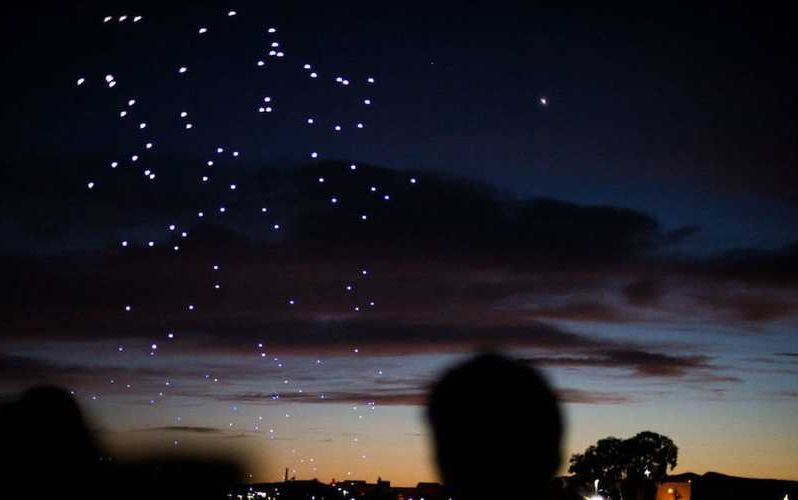 Mysterious swarms of giant drones have started to appear in the Colorado and Nebraska night sky, and nobody knows where they're coming from…