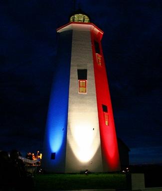 Miscou Island Lighthouse, New Brunswick Canada at Lighthousefriends.com