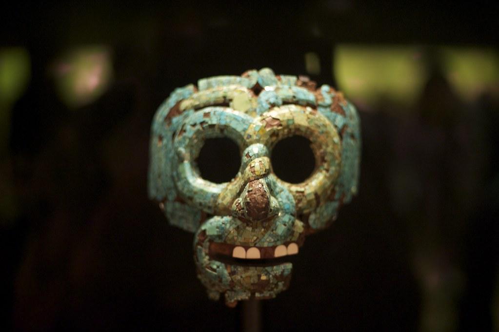 Quetzalcoatl | Mosaic mask of Quetzalcoatl 15th-16th ...