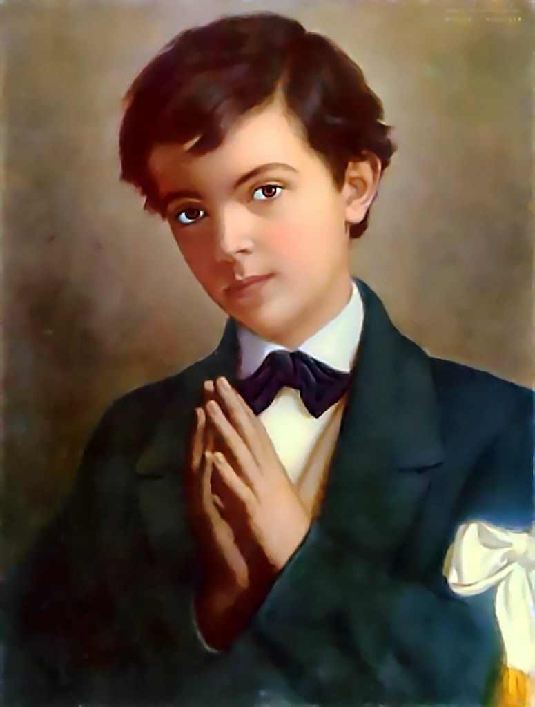St. Dominic Savio | A very rare clear picture of St ...