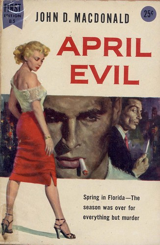 1956 _ Dell First Edition 85 | 1956; PBO April Evil by ...