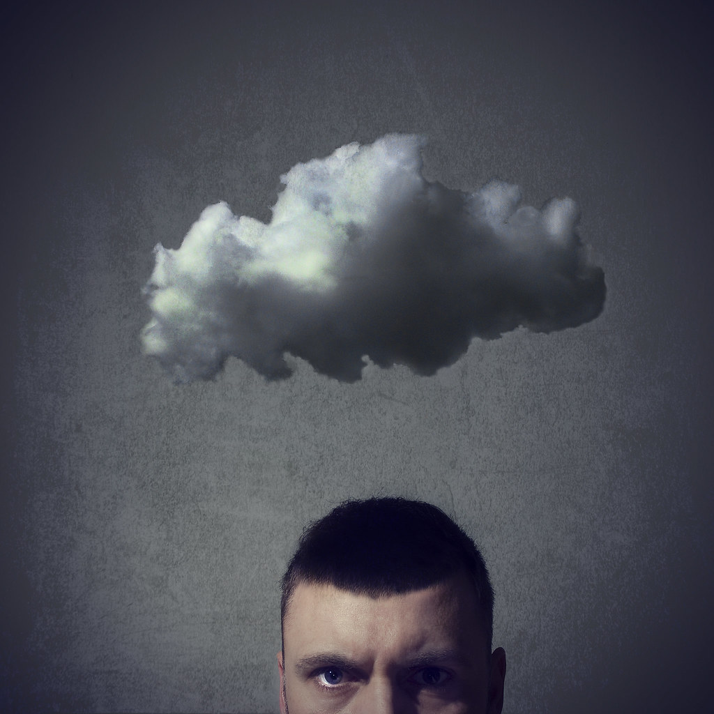 I feel like there's a cloud hanging over my head | 113/365 ...