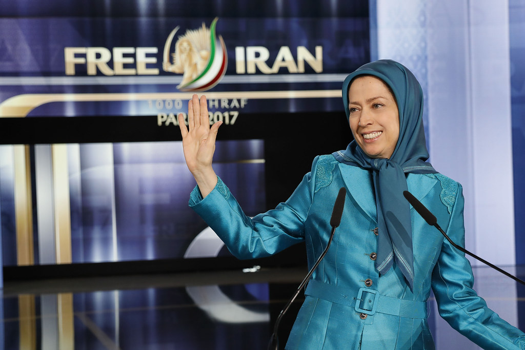 Maryam Rajavi in the grand gathering of freedom-loving Ira… | Flickr
