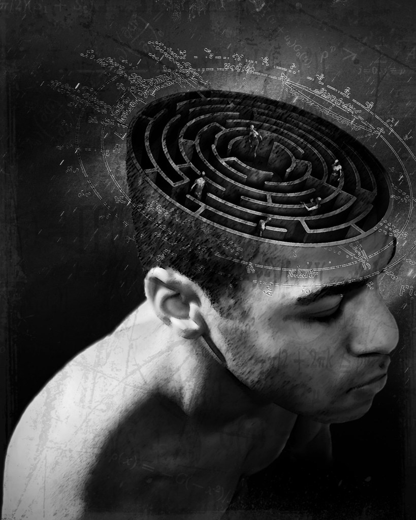My mind is a Prison | 'i feel i am trapped inside my head ...