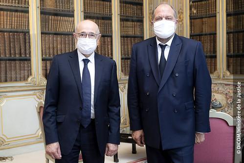Eric Dupond-Moretti garde des Sceaux et ministre de la Jus ...