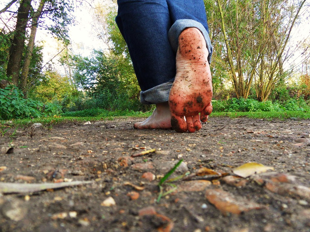 Walking barefoot outdoors   Walking barefoot in the woods in…   Flickr