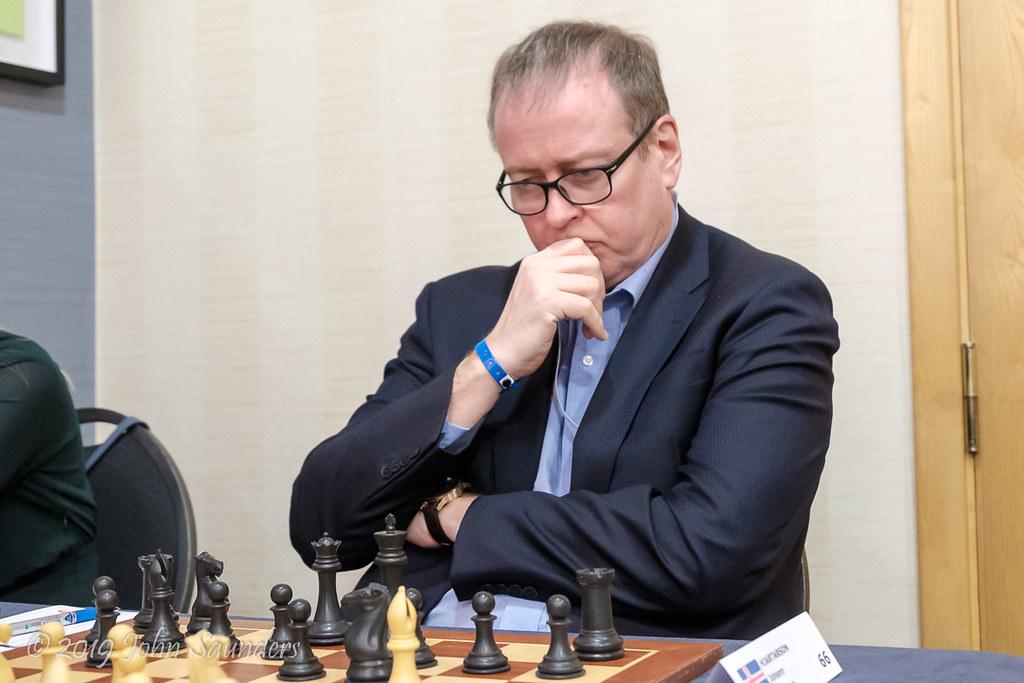 Johann Hjartarson | 2019 Gibraltar International Chess ...
