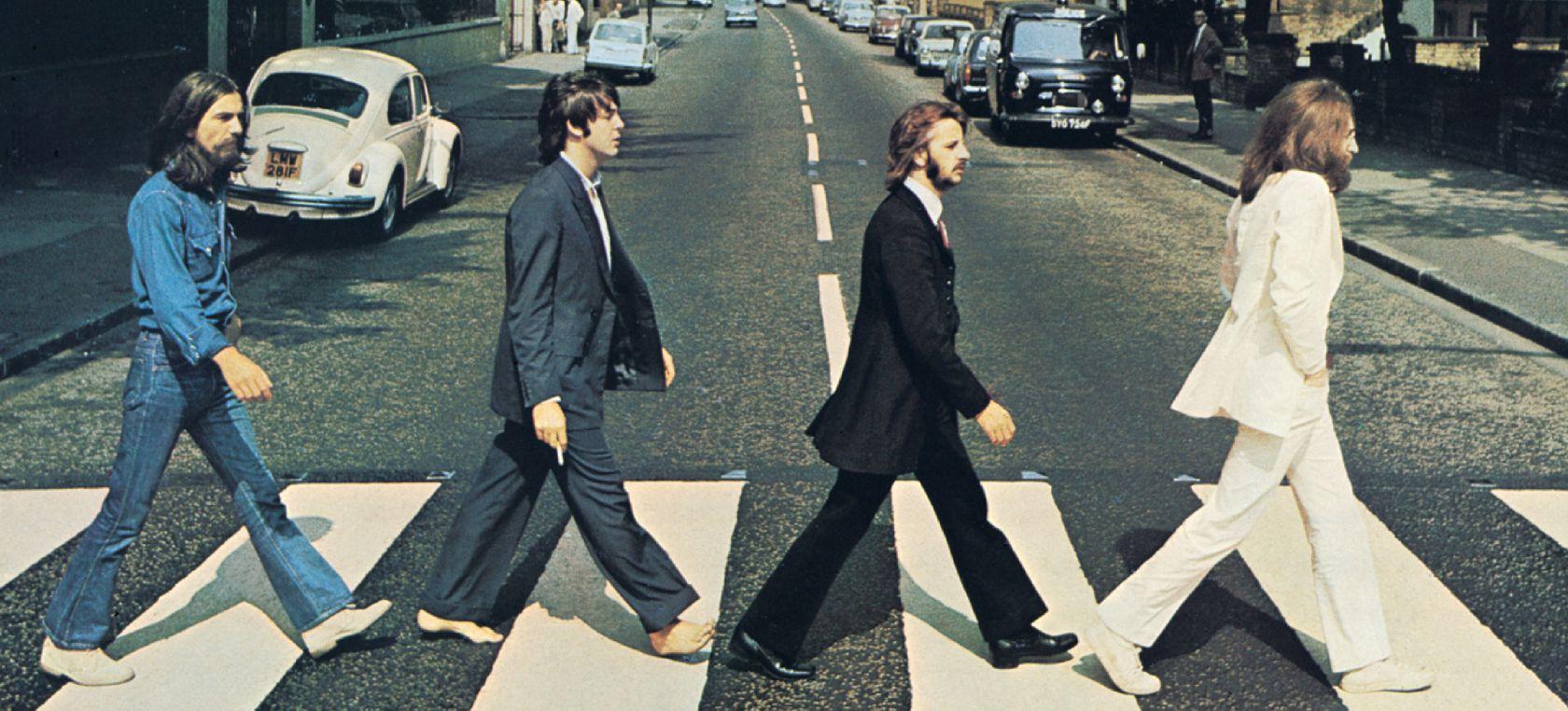 La icónica foto de The Beatles en Abbey Road cumple 50 ...