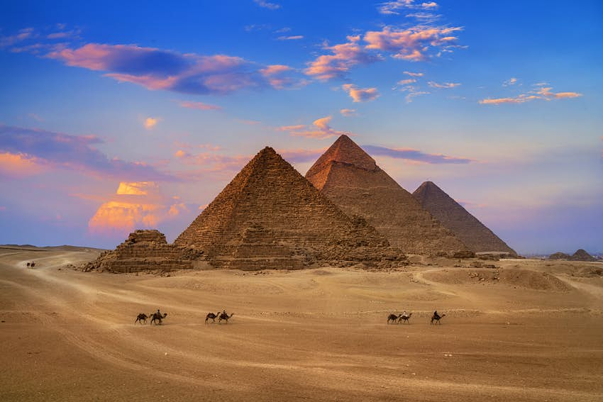 Getting to know the Pyramids of Giza - Lonely Planet