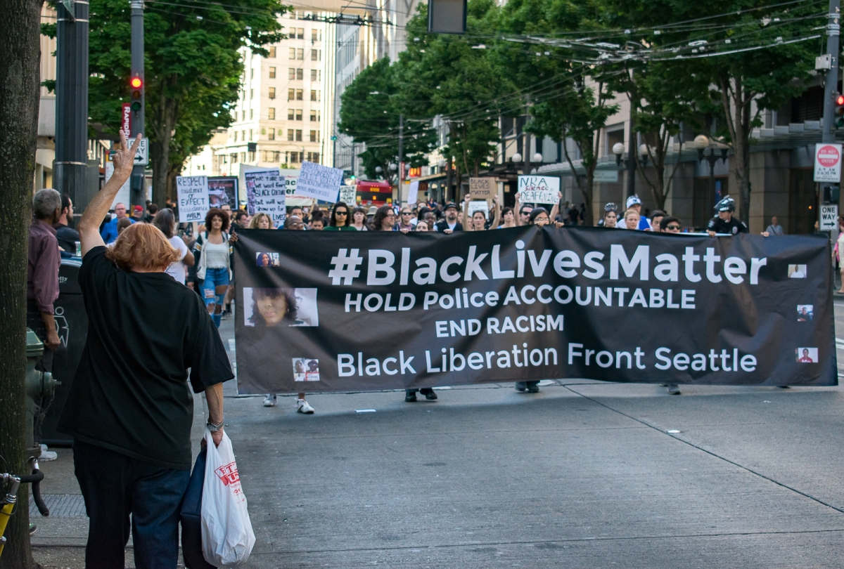 Seattle's March for Black Lives One Year After Philando Castile – MadisonMcQueenBlog