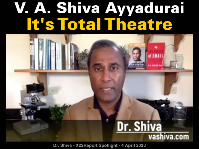 V. A. Shiva Ayyadurai: It's Total Theatre | MalagaBay