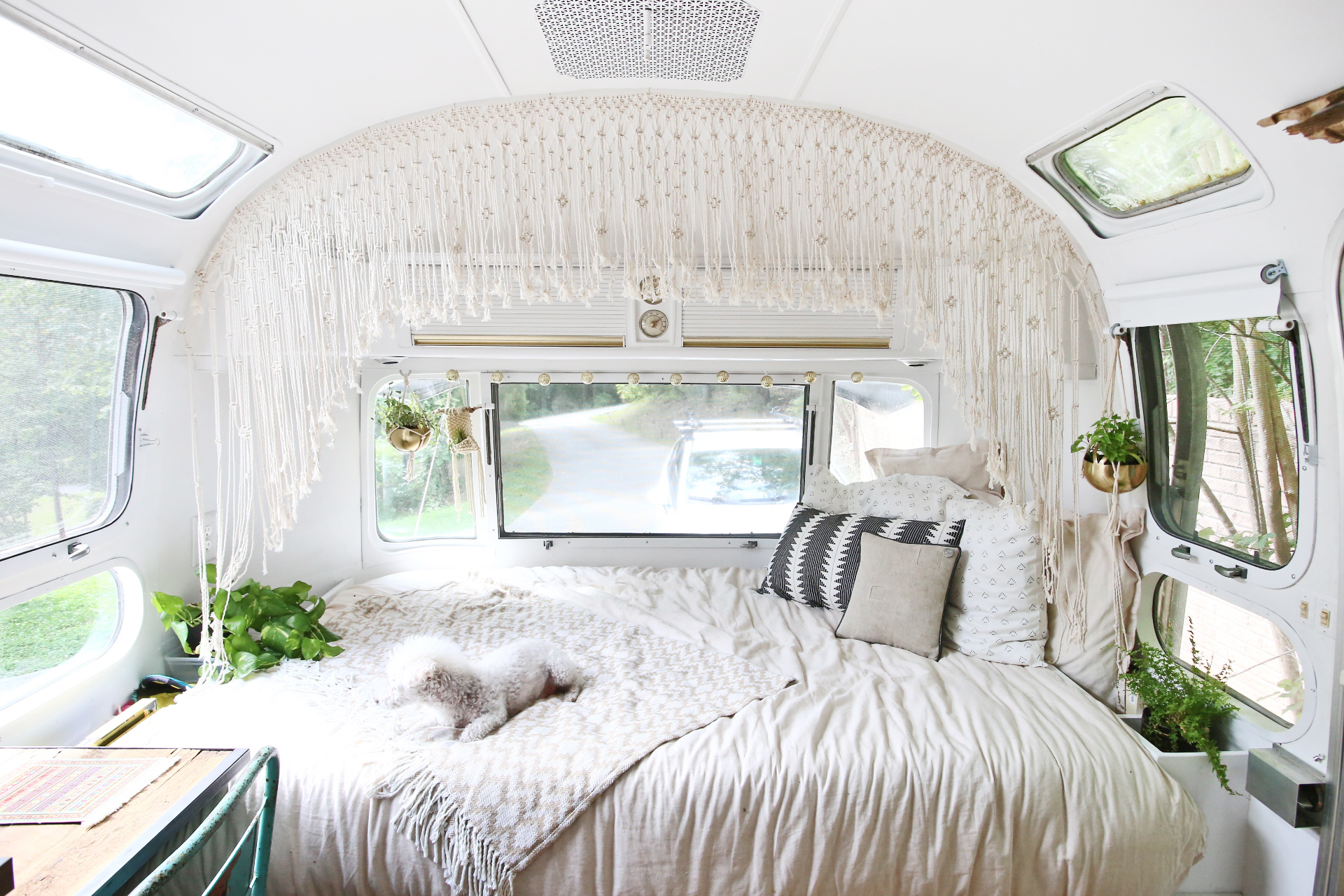 Airstream Bed Remodel Part 2: Twin Beds to Full-sized Bed ...