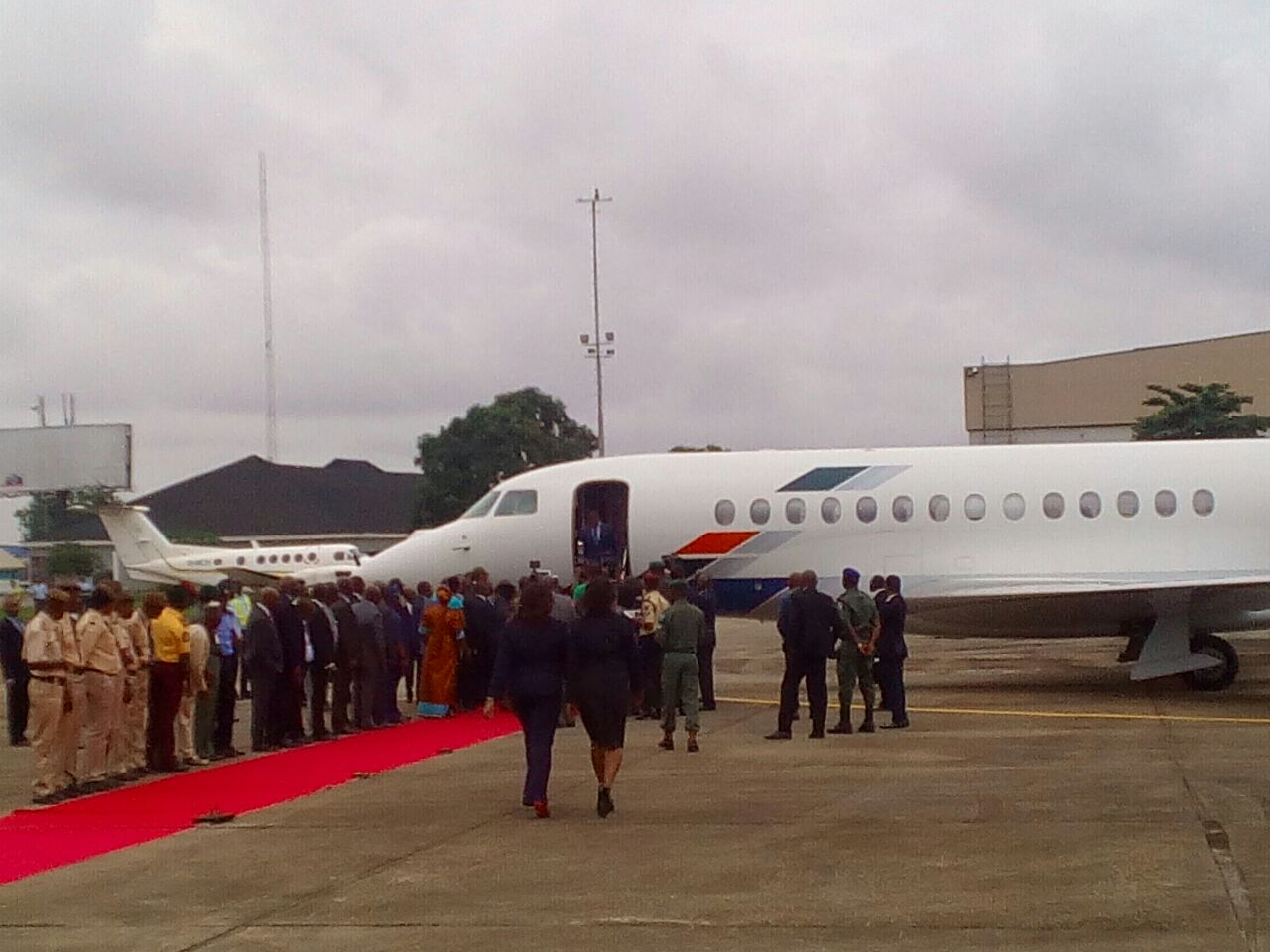 Togolese president arrives Lagos on bilateral relation ...
