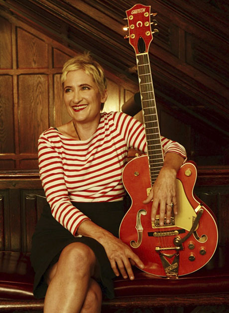 Jill Sobule at the me&thee coffeehouse 1 February 2019 | Andrew Delaney opens