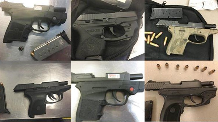 TSA found nearly a dozen guns a day at US airport checkpoints in 2019…