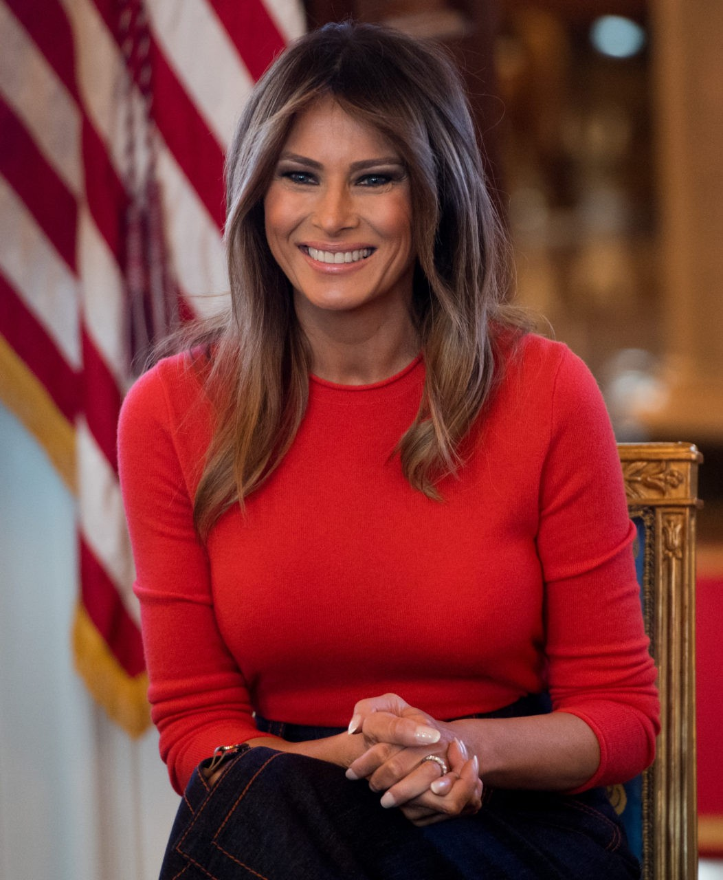 Fashion Notes: Melania Trump Goes Groovy in 1970s-Inspired ...